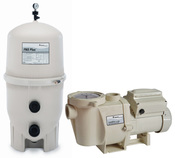 Build Your Own Pentair Pool Pump and D.E. Filter Pool Equipment Package - Item PentairDEBundle