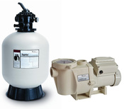 Build Your Own Pentair Pool Pump and Sand Filter Pool Equipment Package - Item PentairSandBundle