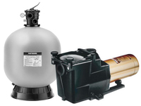 Custom Hayward Pool Pump and Sand Filter Equipment Bundle HaywardSandBundle