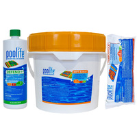 Custom Poolife Pool Chemical Kit - Free Test Strips Included PoolifeBundle