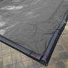 12 x 24 Inground Winter Pool Cover 15 Year Silver/Black Rectangle Item #GPC-70-8251