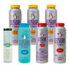 Leisure Time Spa and Hot Tub Chlorine Chemical Kit with Gift - Small Item #LTKIT1