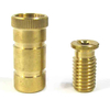 PoolTux Two Piece Brass Anchor for Concrete Item #SPG-701-502