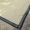 16 x 32 Inground Winter Pool Cover 20 Year Black/Tan Rectangle Item #WC-IG-101003