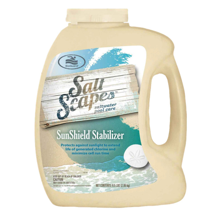 Salt scapes sunshield stabilizer 6 5 lbs - Saltwater swimming pool chemistry ...