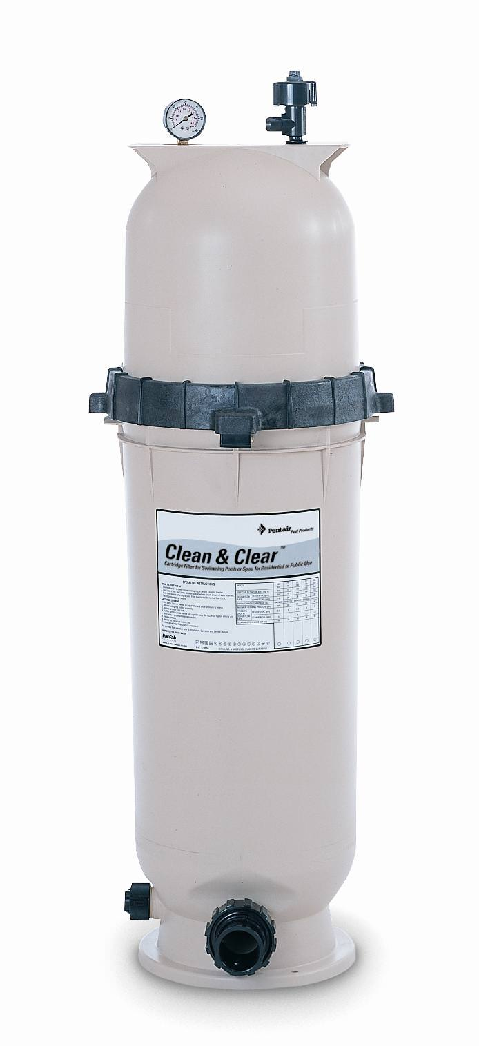Pentair clean and clear cartridge swimming pool filter How to clean swimming pool filter cartridge