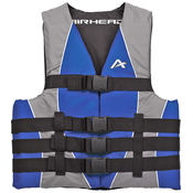 Airhead Universal Closed Side Adult Life Vest 2XL/3XL - Item 10010-06-A-BL