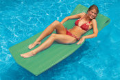 Swimline SofSkin Floating Mattress Kiwi - Item 12030