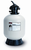 "Pentair Tagelus TA40D 19"" Sand Swimming Pool Filter Tank with 1.5"" Multi-Port ... - Item 144126"