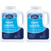 BioGuard Super Soluble Granular Swimming Pool Chlorine 5 lb - 2 Pack - Item 21049-2