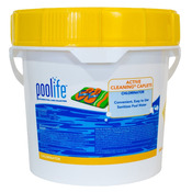 Poolife Active Cleaning Caplets Pool Chlorine 24.5 lb - Item 22215