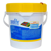 Poolife Active Cleaning Caplets Pool Chlorine 5.65 lb - Item 22222