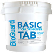 "BioGuard Basic 3"" Chlorinating Tablets 25 lb - Item 22512"
