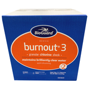 BioGuard BurnOut 3 Swimming Pool Granular Chlorine Shock & Ozidizer - 24 x 1 lb ... - Item 22808-24