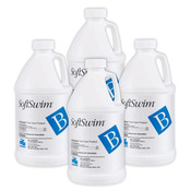 SoftSwim B Chlorine-free Sanitizer 1/2 Gallon Case (4 x 1/2 gallon bottles) - Item 22858-4