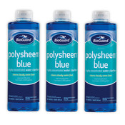 BioGuard Polysheen Blue 32 oz - 3 Pack - Item 23721-3