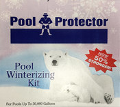 Pool Protector Winterizing Kit 30,000 gal - Item 2603