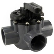 "Pentair 1.5"" Three-Way Diverter Valve - Item 263037"