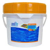 POOLIFE MPT Extra Multipurpose 3 inch Cleaning Tablets Pool Chlorine 21 lb - Item 42122