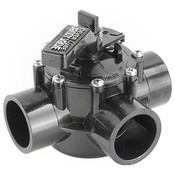 "Jandy Pro Series NeverLube 1.5"" Three-Way Diverter Valve - Item 4715"