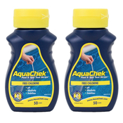 AquaChek 4 in 1 Test Strips Chlorine Qty: 50 (2 Pack) - Item 511242-2