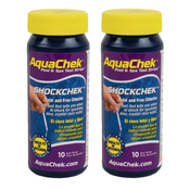 AquaChek 2 in 1 ShockChek Test Strips Qty: 10 (2 Pack) - Item 512256-2