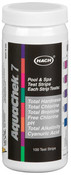 AquaChek Silver 7 in 1 Test Strips - Chlorine and Bromine Qty: 100 - Item 551236