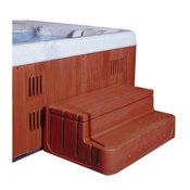 Step-N-Stow Dark Redwood - Item 6130319
