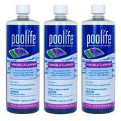 Poolife TurboBlu Water Clarifier 32 oz - Pack of 3 - Item 62064-3