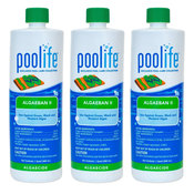 POOLIFE AlgaeBan II Quart Pool Algaecide 32 oz - 3 Pack - Item 62069-3
