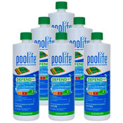 POOLIFE Defend+ Pool Algaecide 32 oz - 6 Pack - Item 62076-6