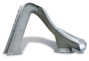 S.R. Smith Typhoon Pool Slide in Granite with Right Turn - Item 670-209-58124
