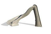 S.R. Smith TurboTwister Pool Slide in Granite with Left Turn - Item 688-209-58224