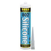 Boss 802 Pool & Spa Acetoxy Cure Silicone General Purpose Adhesive 10.3 oz. - Item 80200