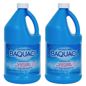 Baquacil Sanitizer and Algistat 1/2 gal Non-Chlorine Pool Sanitizer - 2 Bottles - Item 84321-2