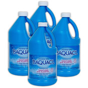 Baquacil Sanitizer and Algistat 4 x 1/2 gallon bottles Non-Chlorine Pool ... - Item 84321-4