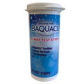 Baquacil 4-Way Test Strips with Oxidizer Pad Qty: 25 - Item 84396