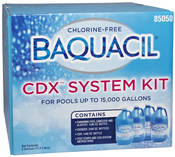 Baquacil CDX Pool Care System Kit 15,000 Gallons - Item 85050