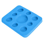 Super Soft Kool Tray & Game Board - Blue - Item 8810026