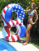 Swimline Americana Conversation Lounger - Item 90413