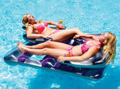 Swimline Face 2 Face Double Inflatable Lounger - Item 9042