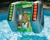 Swimline Inflatable StarFighter Ride-On Squirter - Item 90753