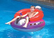 Swimline Inflatable UFO Ride-On Squirter - Item 9078