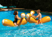 Swimline Log Flume Joust Set - Item 9084