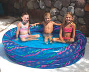 Swimline Printed 3-Ring Pool Float - Item 9090