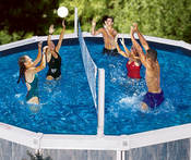 Swimline Pool Jam Combo - Volleyball/Basketball for Aboveground Pools - Item 9191