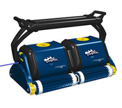 Dolphin Diagnostic 2x2 Robotic Pool Cleaner with Caddy for Commercial Pools - Item 9999353-BL4