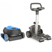 Dolphin Nautilus Robotic Pool Cleaner With Clever Clean And Caddy - Item 99996113-US-CADDY