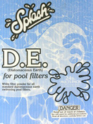 D.E. Swimming Pool Filter Powder - 24 LB Box Diatomaceous Earth - Item AAA-211