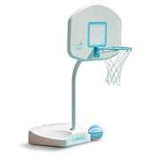 DunnRite Junior Hoop Stainless Steel Portable Regulation Pool Basketball Game ... - Item B800